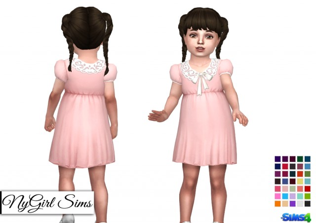 Collar and Bow Dress by NYGirl