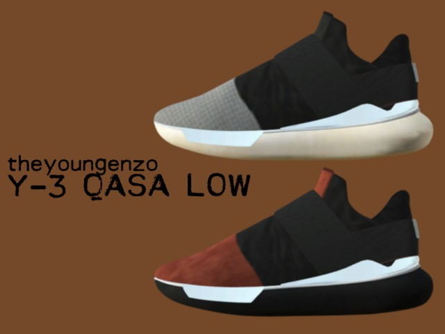 Y-3 QASA LOW II by theyoungenzo