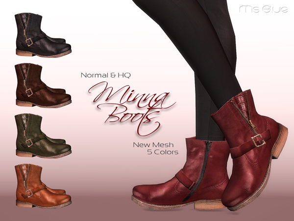 Minna Boots Normal + HQ by Ms Blue