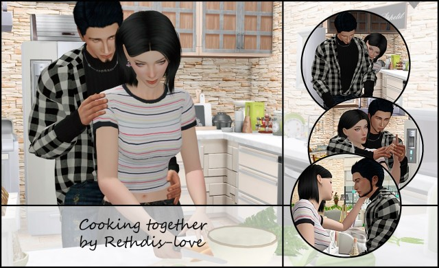 Cooking_together by Rethdis-love