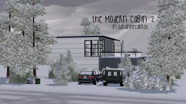 The Modern Cabin 2 by adriannecarroll