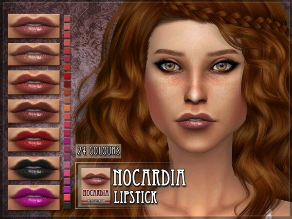 Nocardia Lipstick by RemusSirion