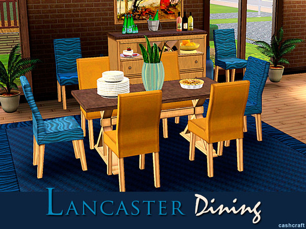 Lancaster Dining by cashcraft
