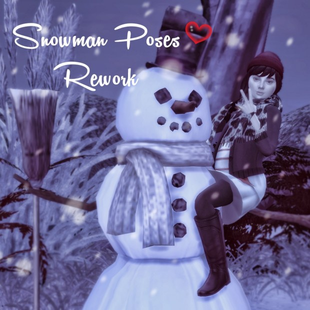 Snowman Poses Rework by Dreacia