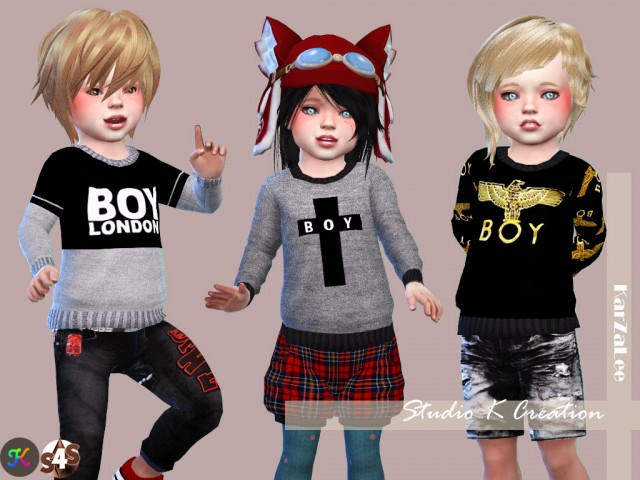 Boy London Sweat for toddler by karzalee