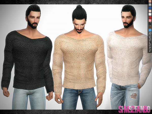 296 - Muscle Jumper by sims2fanbg