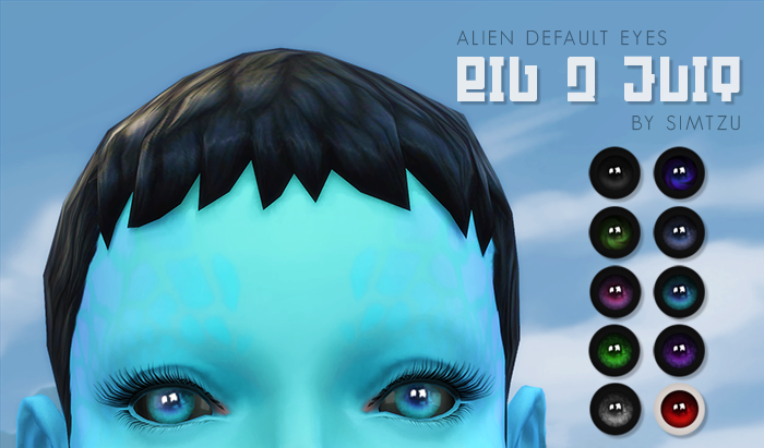 Updated for Toddlers - Alien Big Q Eyes Edit by Simtzu