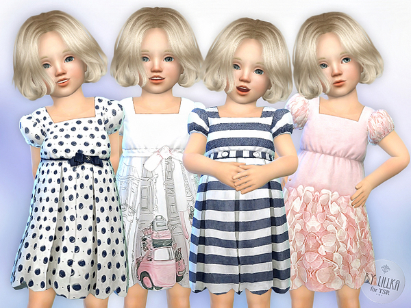 Toddler Dresses Collection P03 by lillka