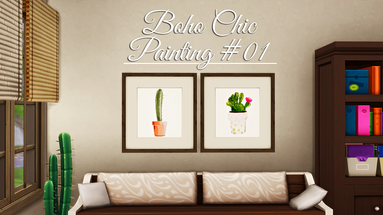 Boho Chic Painting by BlueXSims