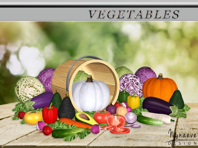 Vegetables by NynaeveDesign