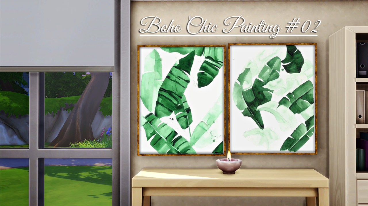 Boho Chic Painting 02 by BlueXSims