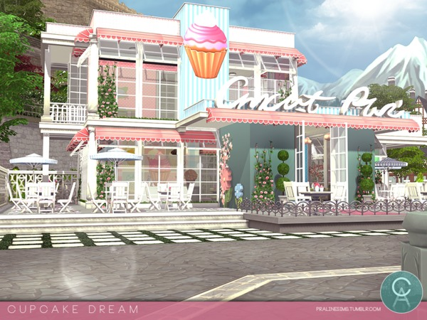 Cupcake Dream by Pralinesims