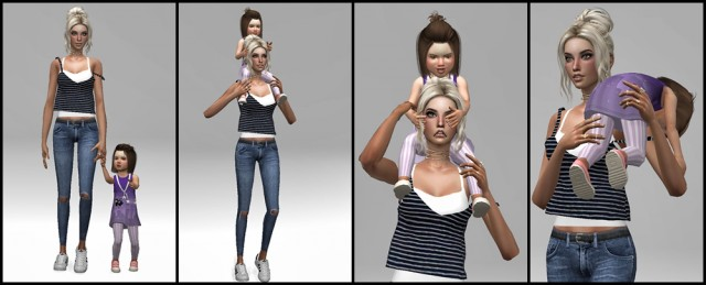 Toddler Pose Pack by Dreacia