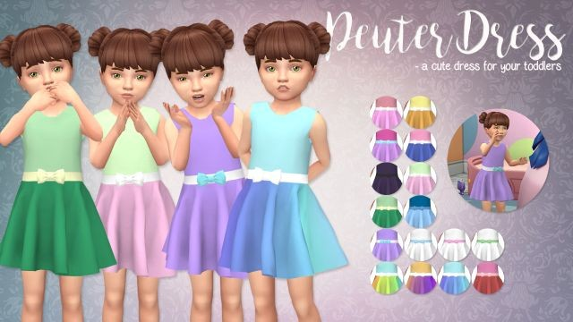 Peuter Dress for Toddlers by Eenhoornsims