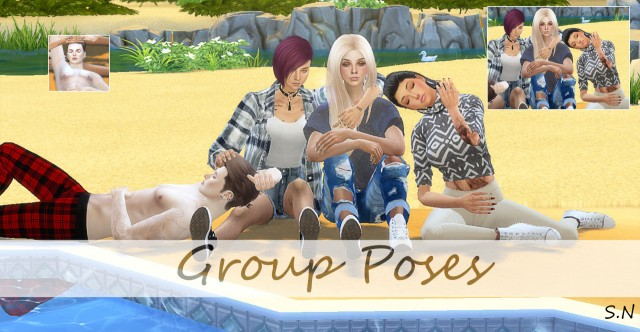 Group Poses by Simsnema