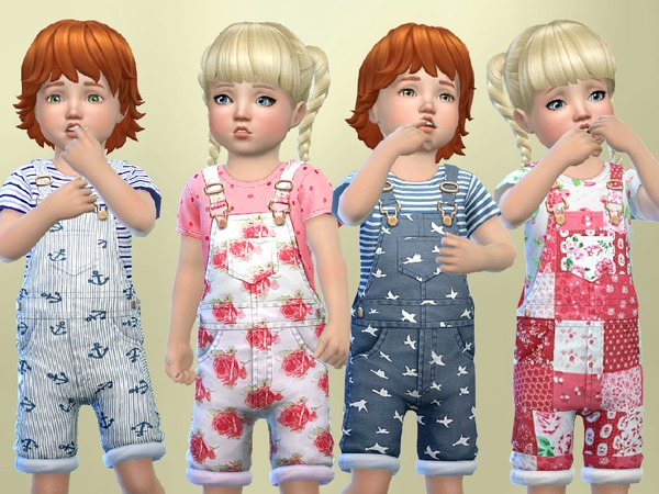 Toddlers Patterned overalls by SweetDreamsZzzzz