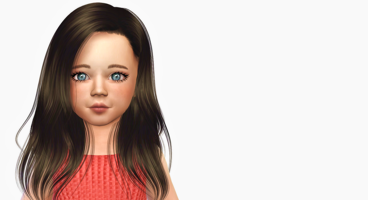 Sunshine Hair Converted for Toddlers by Simiracle
