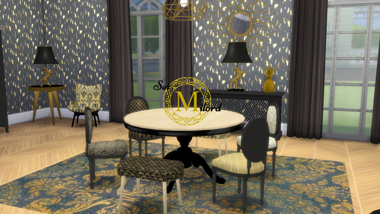 Milford Living and Dining Set by Meinkatz Creations