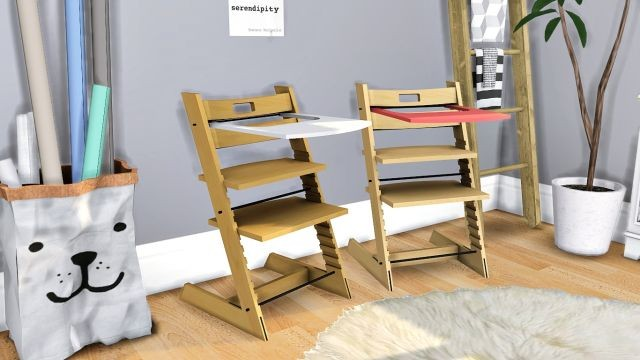 Stokke Tripp Trapp High Chair by Peter Opsvik Mbler by MXIMS