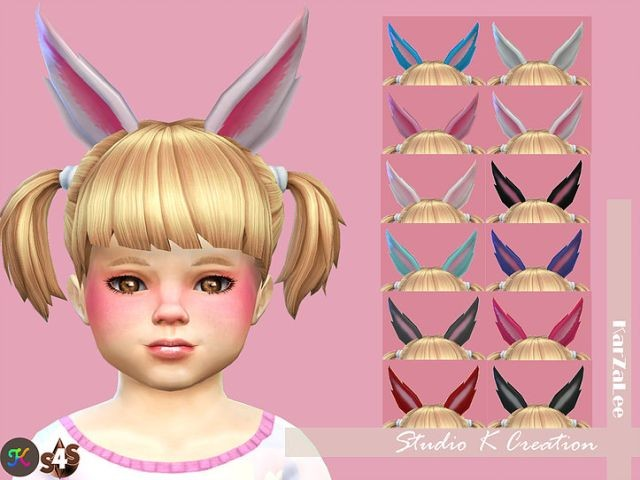 rabbit ears for toddler by Karzalee