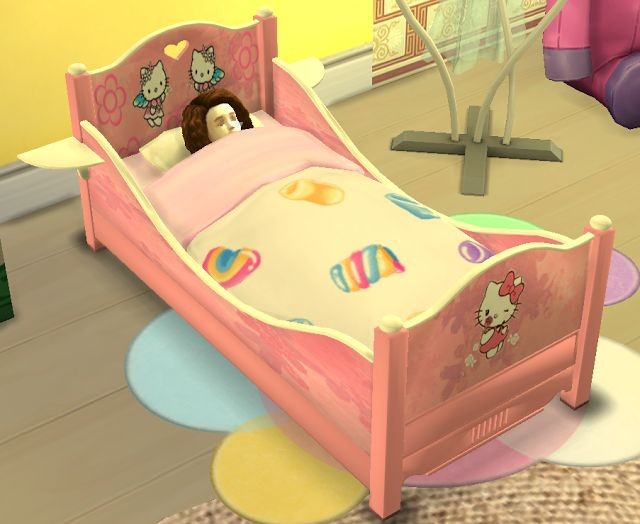 Classic Toddler Bed by SanjanaSims