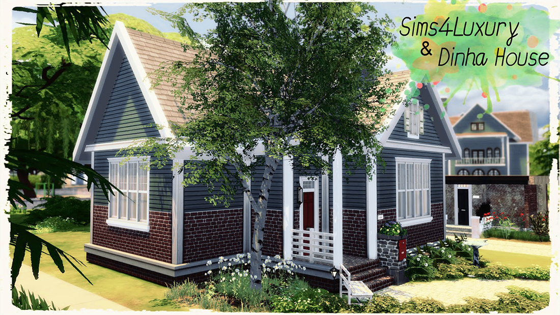 Small Suburban House by Dihna Gamer