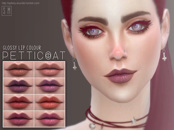 [ Petticoat ] - Glossy Lip Colour by Screaming Mustard