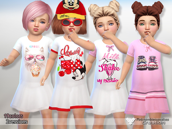 Toddler Nightgowns by Pinkzombiecupcakes