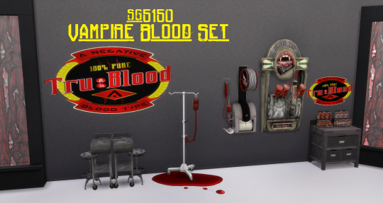 Vampire Blood Set by sg5150