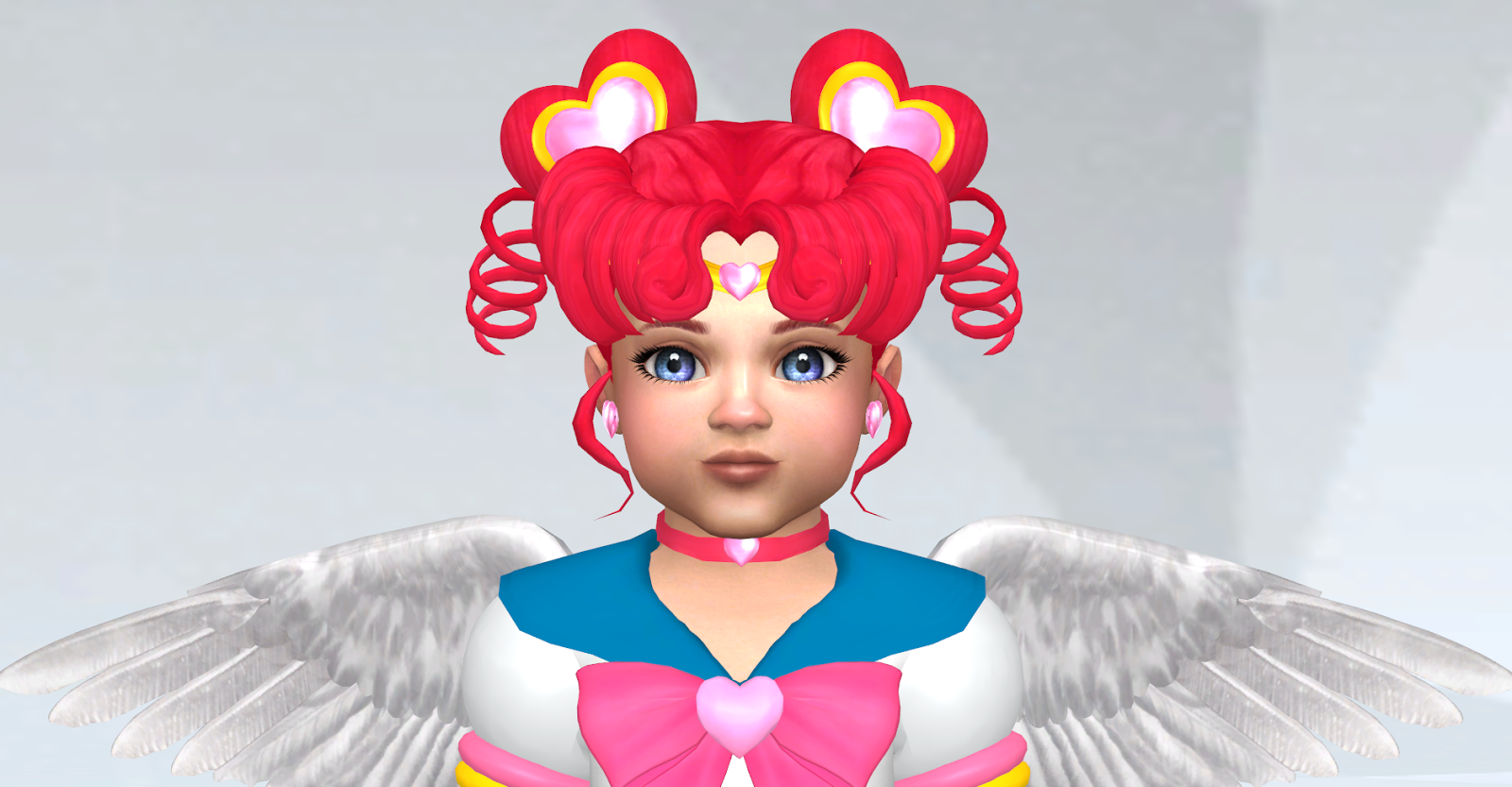 Sailor Chibi Chibi Hair, Clothing and Accessories by SilverMoon