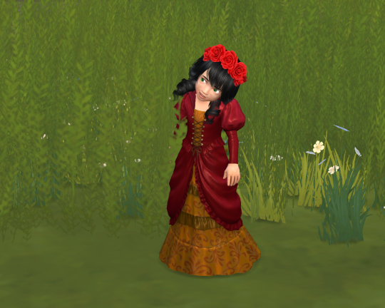 Vampire Dress Converted for Toddlers by Lina
