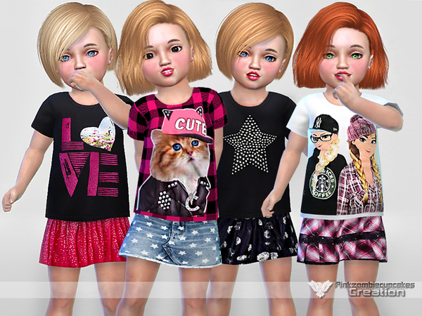 Toddler Everyday Collection 02 by Pinkzombiecupcakes