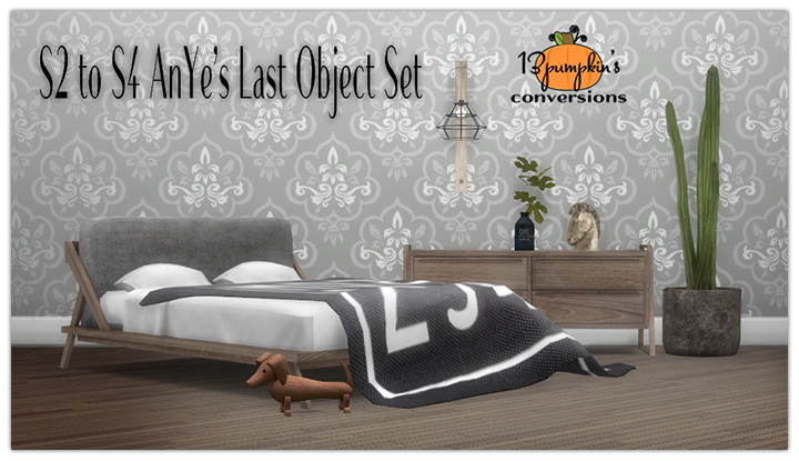 TS2 Bedroom and Tables Set by 13Pumpkin