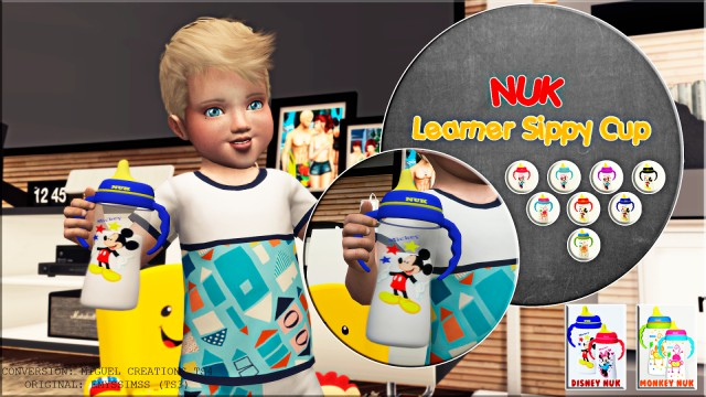 NUK - Learner Sippy Cup (ACC + OBJ) by VictorrMiguell