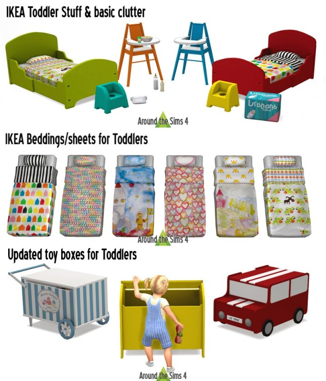 IKEA Toddler Stuff and Basic Clutter + Updated Toy Boxes by Sandy
