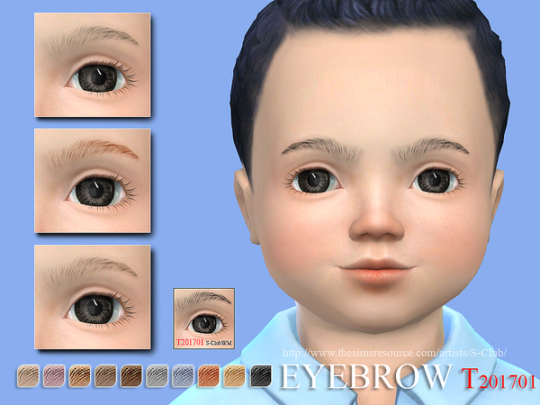 S-Club WM ts4 Eyebrows T 201701