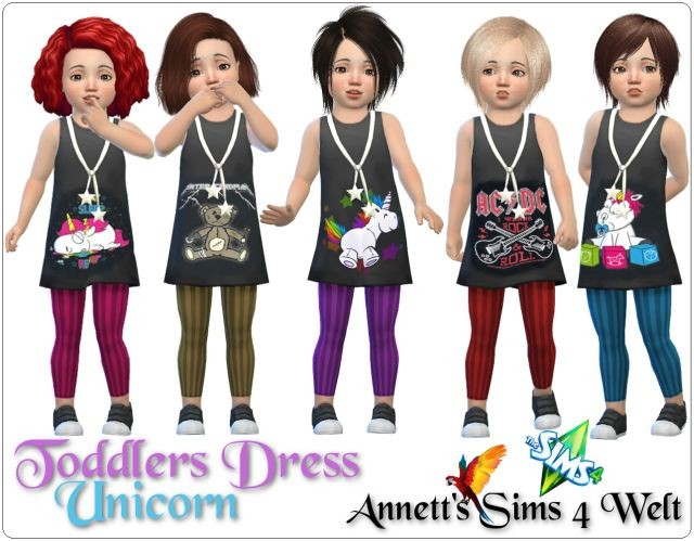 """Toddlers Dress """"Unicorn"""" by Annett85"""