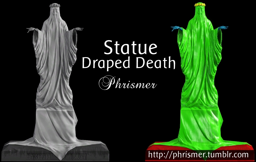 DRAPED DEATH EXPORTED BY PHRISMER