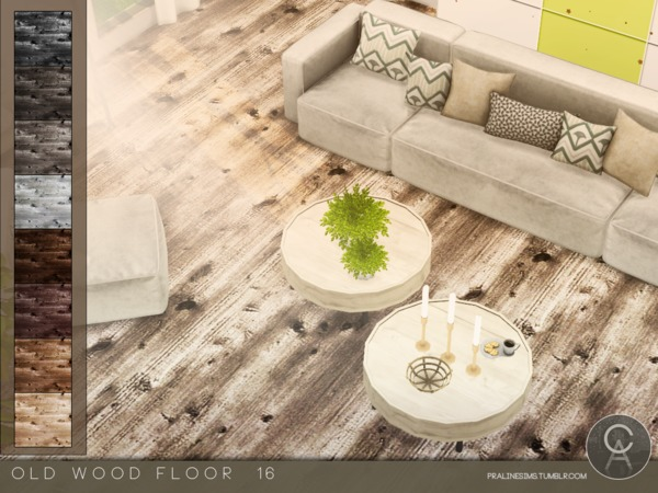 Old Wood Floor 16 by Pralinesims