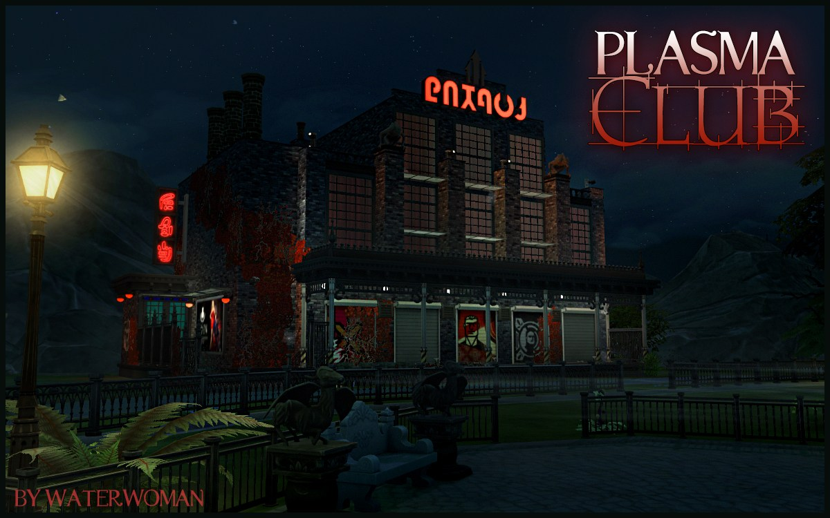 Plasma Club (no CC) by WaterWoman