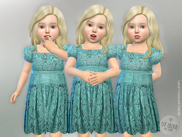 Lace Toddler Dress by lillka
