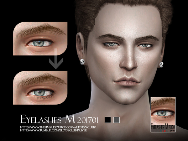 S-Club WM ts4 eyelashes M 201704
