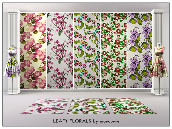 Leafy Florals_marcorse