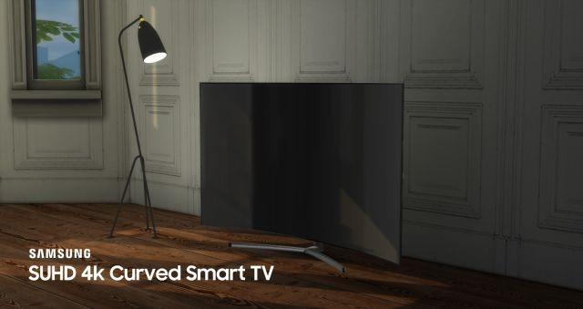 Samsung SUHD 4k Curved Smart TV by littledica