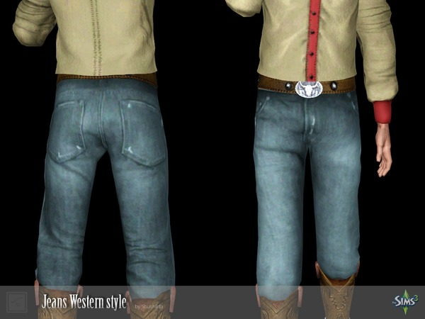Jeans Western style by Shushilda