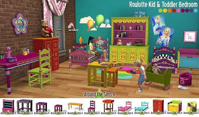 Roulotte Kid & Toddler Bedroom by Sandy