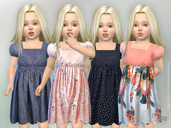 Toddler Dresses Collection P05 by lillka