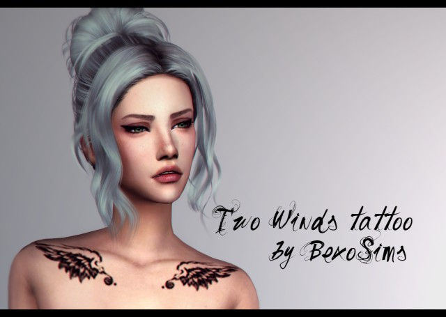 Two Wings tattoo by bexosims