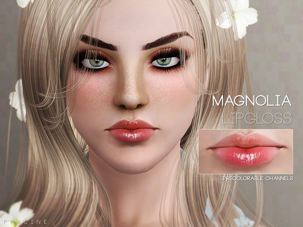 Magnolia Lipgloss by Pralinesims