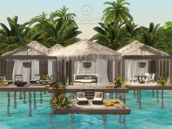 Villa Coconut by Aquarhiene